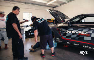 The Narvaez Racing Team is one cool group