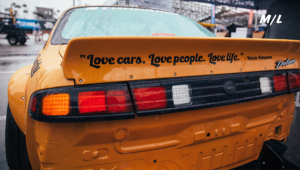 Love Cars, Love People, Love Life! - Yukata Katayama