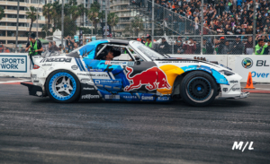 Mad Mike's Beautifully executed Red Bull Sponsored Miata