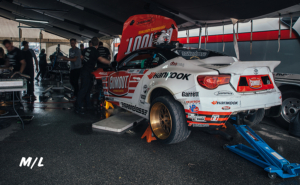 Ryan Tuerck doing some engine work