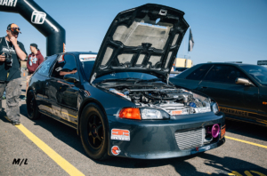 The only Drag Prepped Honda Civic with Speed Factory Racing Parts.
