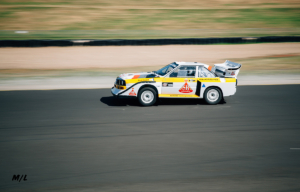 That Group B Audi doing laps like a mad beast.