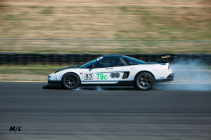 The only NSX that was actually on the Club Sprint Class under Hard Braking before the first hairpin.