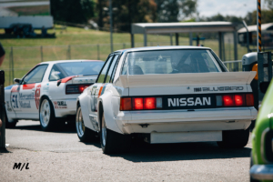 The Nissan Bluebird looks like a 1988-89 Nissan Maxima in the states.