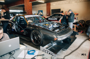 Tim Slade powered the MCA Suspension Nissan Silvia