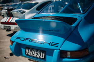There was a nice section of Porsche's in the Car Show